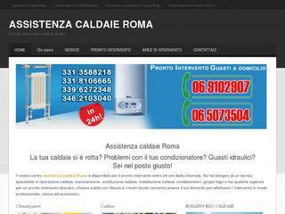 pronto intervento caldaie Roma