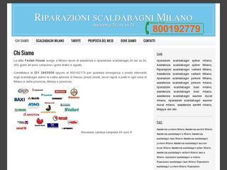 Riparazioni Scaldabagni Vaillant Milano