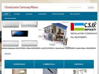 Climatizzatori Samsung Milano