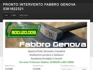 Fabbro Cogoleto