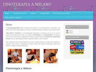 Fisiochinesiterapia A Milano