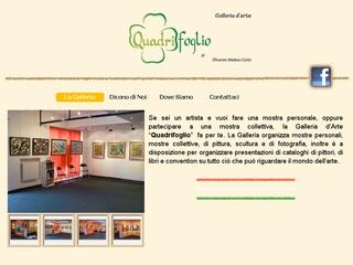 Galleria D'arte Quadrifoglio a Rho in provincia di Milano