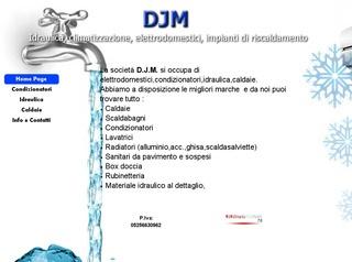 elettrodomestici condizionatori idraulica caldaie DJM Rozzano