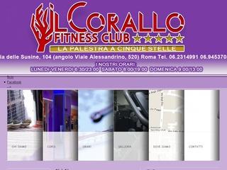 Palestra Fitness club Il Corallo Centocelle Alessandrino