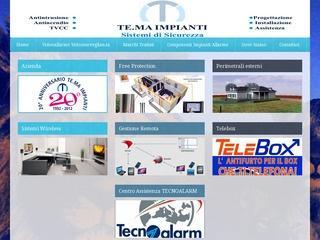 Impianti Allarme Tecnoalarm Milano