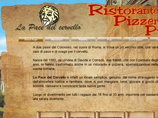 Ristorante Pub Pizzeria al colosseo Roma La Pace Del Cervello
