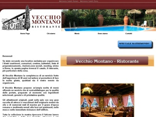 Ristorante per Matrimoni ai Castelli Romani