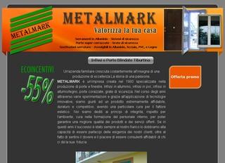 Infissi in alluminio Tiburtina Metal Mark