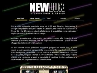 New Lux Illuminazione a Roma e nel Lazio