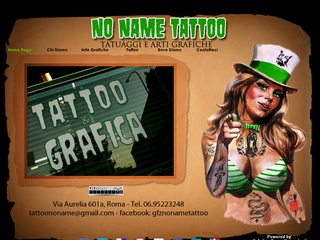 Tatuaggi e arti grafiche a Roma No Name Tattoo