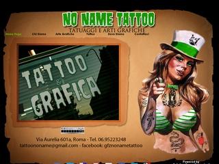 Tatuaggi e arti grafiche a Roma No Name Tattoo