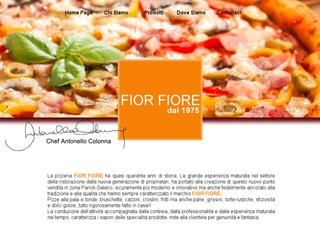 Pizze alla pala e tonde, consegne a domicilio Pizzeria Fior Fiore zona Parioli-Salario Roma