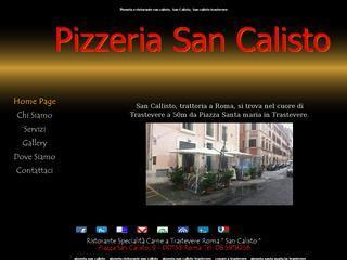 Pizzeria San Calisto Trastevere