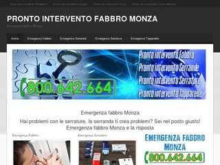 Pronto Intervento Fabbro Monza