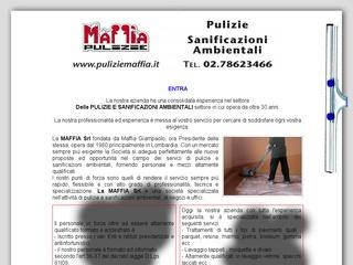PULIZIE E SANIFICAZIONI AMBIENTALI Maffia Milano
