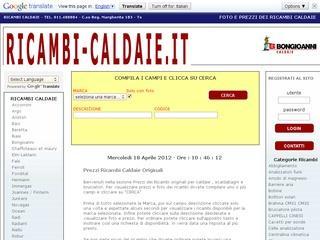 Ricambi Caldaie
