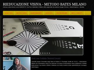 Metodo Bates Astigmatismo Milano