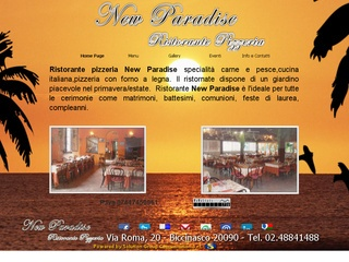 Ristorante Pizzeria New Paradise a Buccinasco