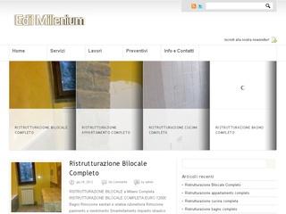 Edil Millenium Azienda di ristrutturazioni appartamenti Milano
