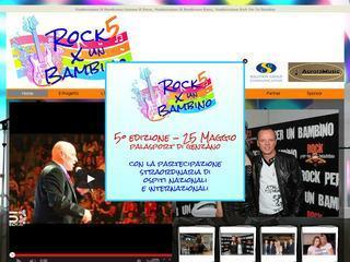 Manifestazione Rock Per Un Bambino