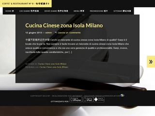 Ristorante Cinese Zona Garibaldi Milano