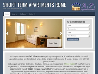 Apartments rental in Rome