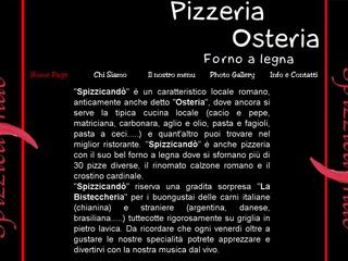Pizzeria con forno a legna e cucina tipica romana Spizzicando