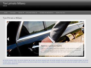 Taxi Privato Aeroporto Linate