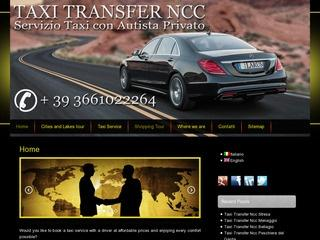 Taxi Transfer Ncc Linate